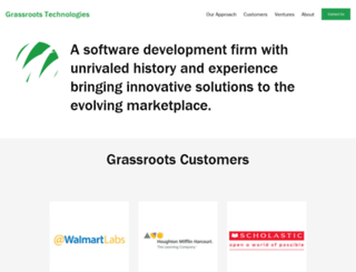 grassroots-tech.com screenshot