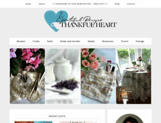 gratefulprayerthankfulheart.com screenshot