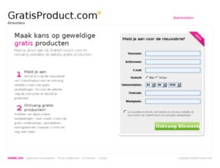 gratisspandoek.com screenshot