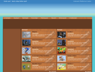 gratisspel1.se screenshot