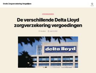 gratiszorgverzekeringvergelijken.nl screenshot