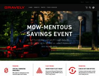 gravely.com screenshot