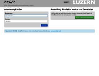 gravis.lu.ch screenshot