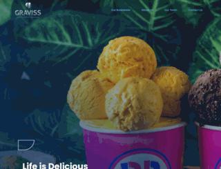 gravissgroup.com screenshot