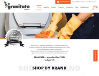 gravitate.co.za screenshot
