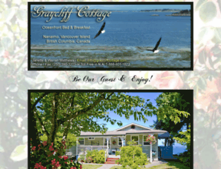graycliffcottage.com screenshot