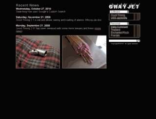 grayjet.com screenshot