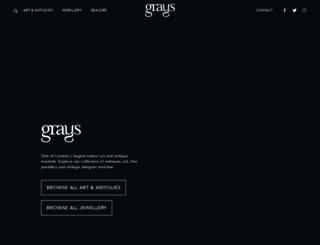graysantiques.com screenshot