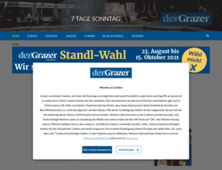 grazer.at screenshot