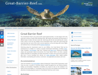 great-barrier-reef.com screenshot
