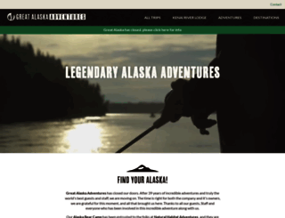 greatalaska.com screenshot