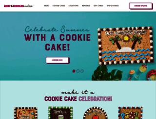 greatamericancookies.com screenshot