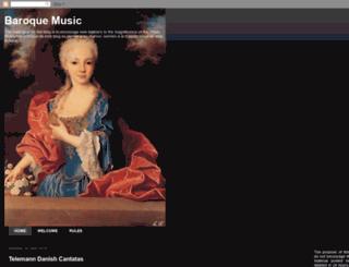 greatbaroquemusic.blogspot.com screenshot