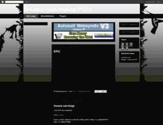 greatcashptc.blogspot.com screenshot