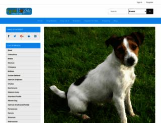 greatdogsite.com screenshot