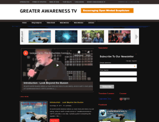 greaterawareness.tv screenshot