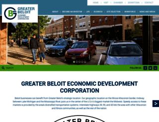 greaterbeloitworks.com screenshot