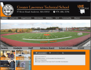 greaterlawrencets.schoolinsites.com screenshot