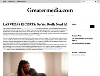 greatermedia.com screenshot