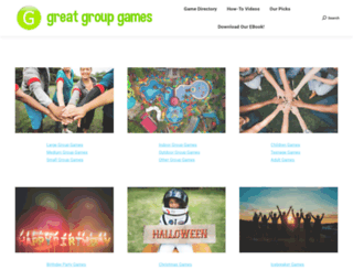greatgroupgames.com screenshot