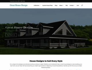 greathousedesign.com screenshot