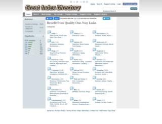 greatindexdirectory.com screenshot