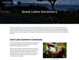 greatlakesgardeners.com screenshot