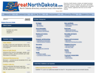 greatnorthdakota.com screenshot