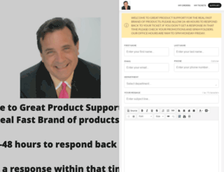 greatproductsupport.com screenshot