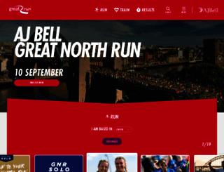 greatrun.org screenshot