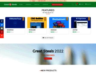greatsteals.com screenshot