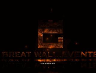 greatwallevents.com screenshot