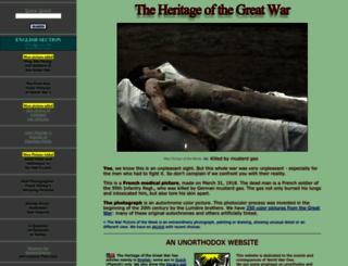 greatwar.nl screenshot