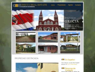 greciarealestate.com screenshot