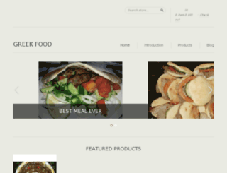greek-food-shop.myshopify.com screenshot