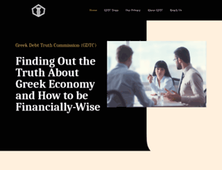 greekdebttruthcommission.org screenshot
