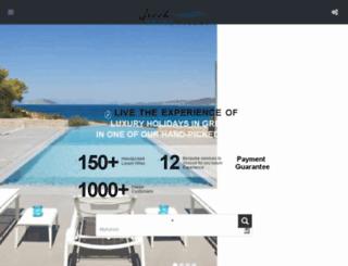 greekprimevillas.com screenshot
