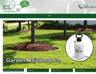 green-gorilla.com.au screenshot