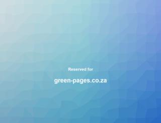 green-pages.co.za screenshot