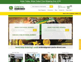 green-parts-direct.com screenshot