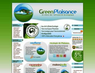 green-plaisance.com screenshot