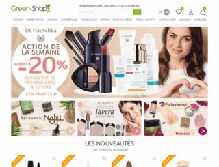 green-shop.ch screenshot