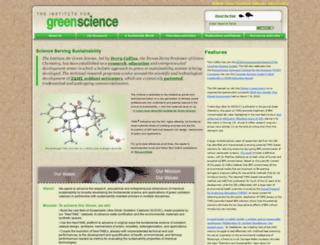 green.chem.cmu.edu screenshot