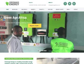 greenageafrica.com screenshot