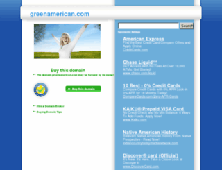 greenamerican.com screenshot