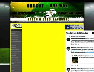 greenandgoldlacrosse.usl.la screenshot