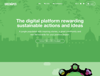 greenapes.com screenshot
