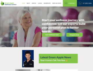 greenapplewellness.com.au screenshot