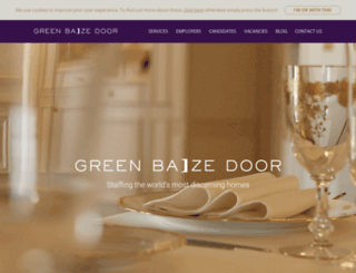 greenbaizedoor.com screenshot