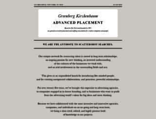 greenbergkirshenbaum.com screenshot
